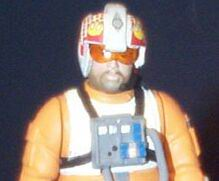Jek Porkins from Star Wars